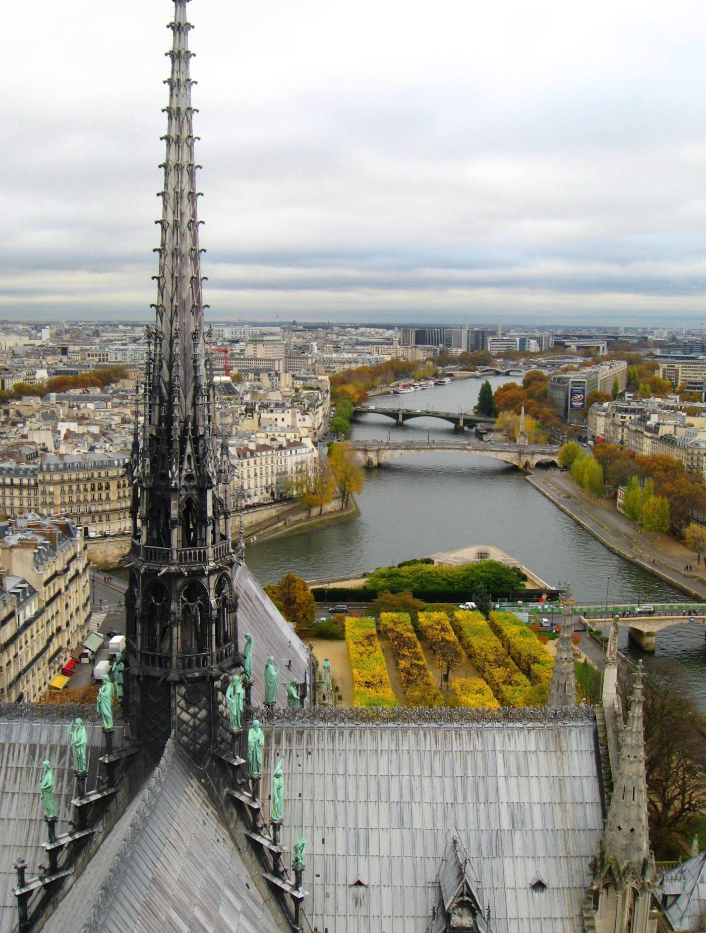 Notre Dame Seine Paris Renee M. Wilmeth