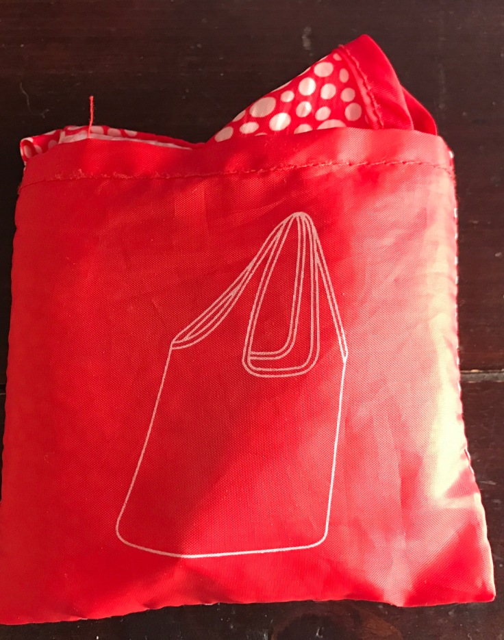 Foldable light weight market bag for travel