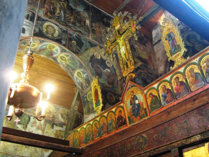 St. Stefan's, fesco, Nesebur, Bulgaria, UNESCO (C) Renee Wilmeth