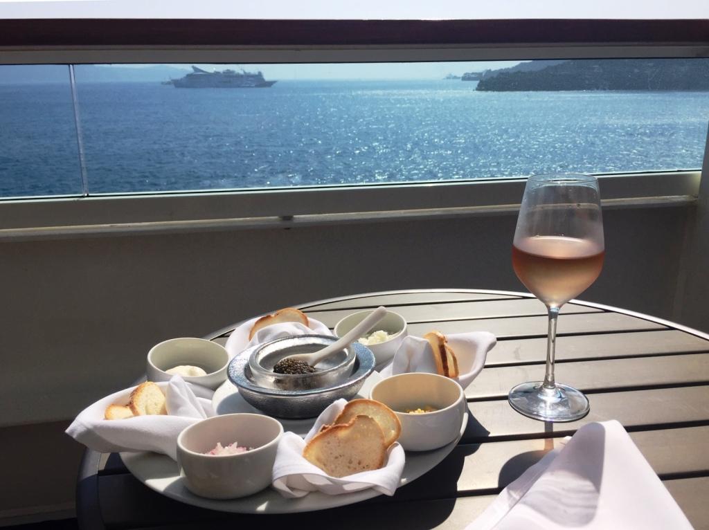 caviar ultra-lux cruising Seabourn